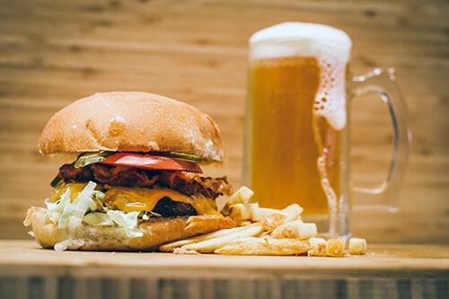 Champ Burger Headwaters Shelburne